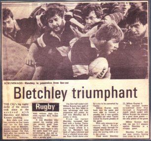 'Bletchley triumphant'