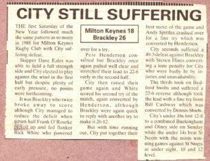 'City still suffering'