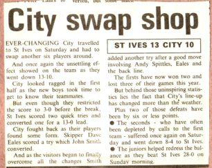 'City swap shop'