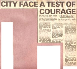 'City face a test of courage';  'Fruitless but still useful'; 'Misery for Eales'.