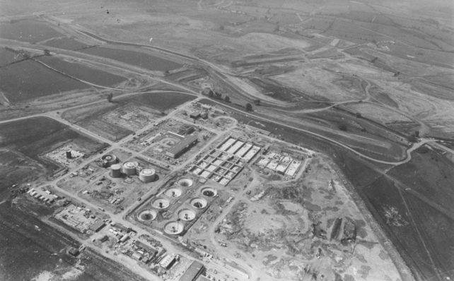Cotton Valley Sewage Works   MKDC