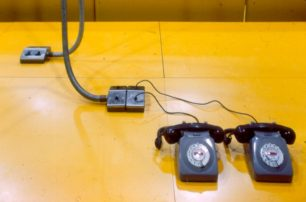 Wavendon Advanced Factory Unit telephones and power sockets