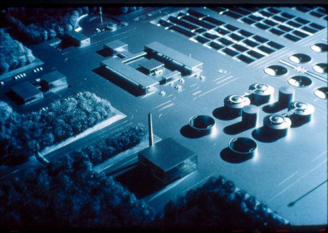 Cotton Valley Sewage Treatment Plant model