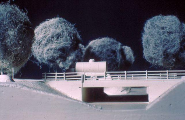 Model of an underpass