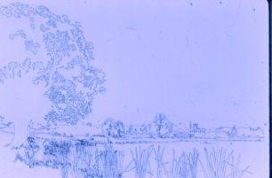 Willen Lake Drawing