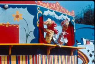 Punch and Judy puppet show