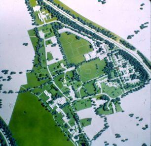 Milton Keynes Village Model