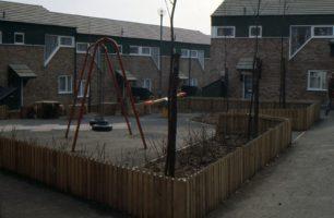 A park in a housing estate