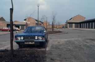 Parking on Eaglestone housing estate