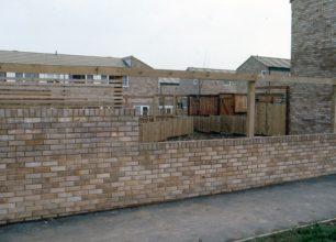View into back gardens in Eaglestone