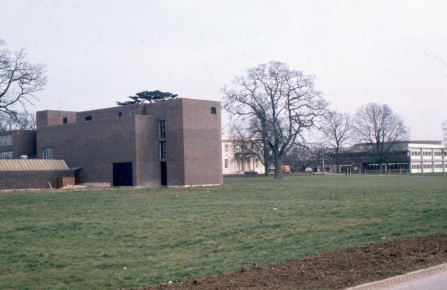 Buildings on the Open University Campus