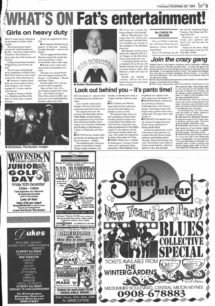 What's on Dec 1994 [newspaper cutting]