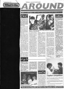 Review of the MK Festival 91 [newspaper cutting]