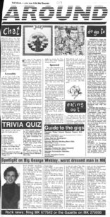 Local album reviews, Big George Webley [newspaper articles]