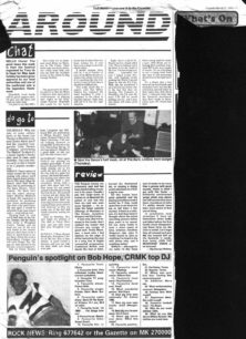 May festival approved, Blues Collective to perform at Edinburgh, upcoming gigs [newspaper cutting]