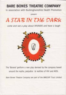 A Stab In The Dark [poster for play]