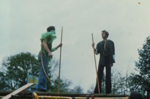 Robin Hood meets Little John