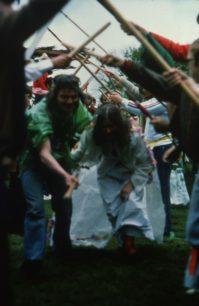 Robin Hood and Maid Marian's wedding