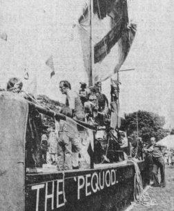 The good ship PEQUOD