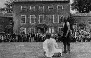 An argument between actors 1980