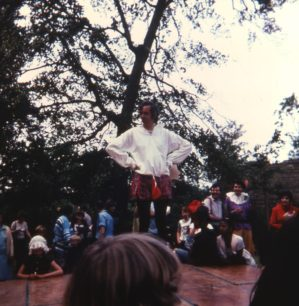 Jon on stage 1981