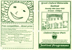 Great Linford Festival Sunday 18th June 1995 12 noon - 5:00 pm