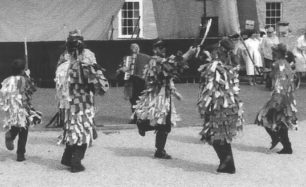 Morris dancing in the 2002 Festival