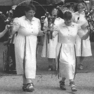 Morris dancing in the 2002 Festival