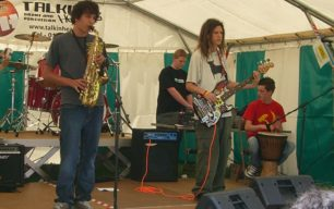 Band on Festival  stage 2007