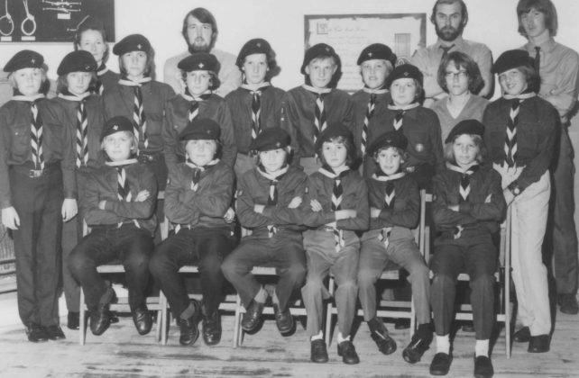 Boy Scouts group.