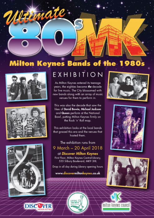 Ultimate 80s MK - Milton Keynes Bands of the 1980s