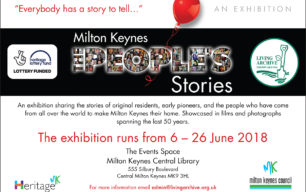Come and see our  MK  People's Stories exhibition