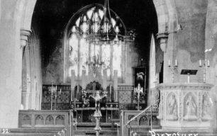 Altar in St. Mary's church