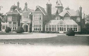 Bletchley Park Mansion, East Front