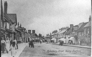 Aylesbury Street looking towards cross roads
