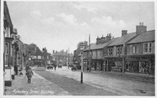 Aylesbury Street looking towards crossroads