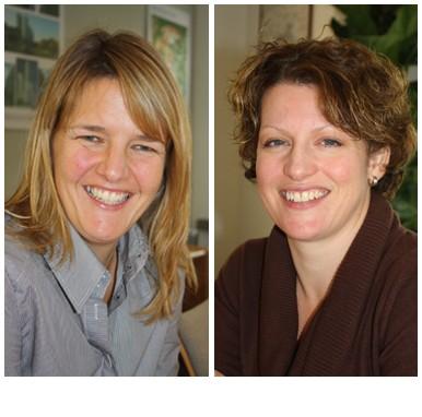 Julia Foster and Heather Pugh