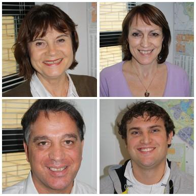 Julie Barrie, Jennifer Thomas, Massimo Grimaldi and Daniel Gates