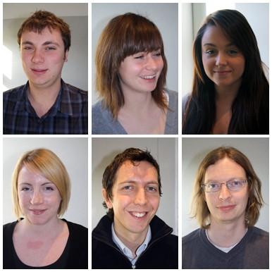 Chris Powell, Fiona McKay, Emma Clark, Natasha Pile, Keith Brown and Joseph Thomas