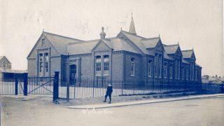 Wolverton Boys' School in Church Street