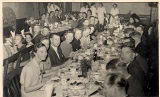 Bletchley LMS End of Season Dinner, 1940s