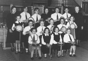 The Bletchley Timbrels in the mid 1950s