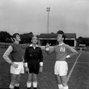 Bletchley v's West Ham, 1968