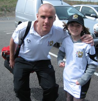 Megan with Shaun O'Hanlon