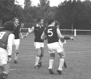 New Bradwell St Peter v's Newport Pagnell Town, 1980