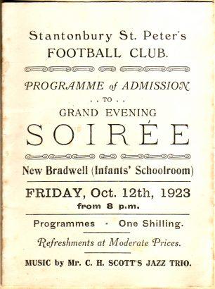 Stantonbury St Peter's Soiree 1923