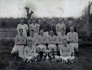 Wolverton Congregational Junior FC. 1935-36