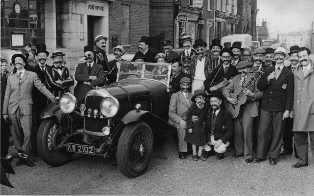 Toc H members in Church Street outside the Post Office