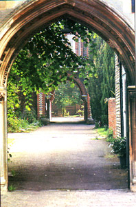 Entrance to the Franciscan Monastery formerly Feegans