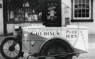 Ice-cream vendor motorbike, Fenny Stratford